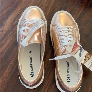 Rose Gold Superga Sneakers | Poshmark
